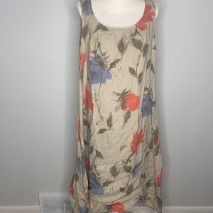 Marisa & Marie Italy Midi Women's Sleeveless Dress